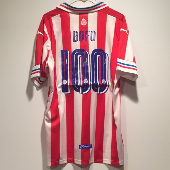 new products 7d226 de519 Chivas 110 Aniversario Bofo Jersey NWT